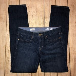 GAP Jeans - Gap 28 Real Straight Dark Wash Jean EUC